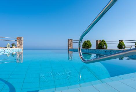 Pool Meerblick Apartment Kreta Levanda